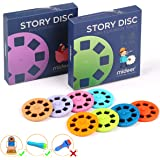 PROACC Story Disc 8 Fairy Tales Movies 64 Diapositivas para Story Projection Torch Story Film Replacement para niños Sleep St