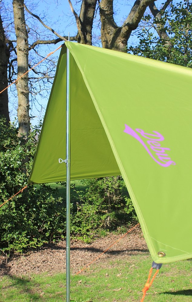 Debus Campervan Sun Canopy Awning - Forest Green