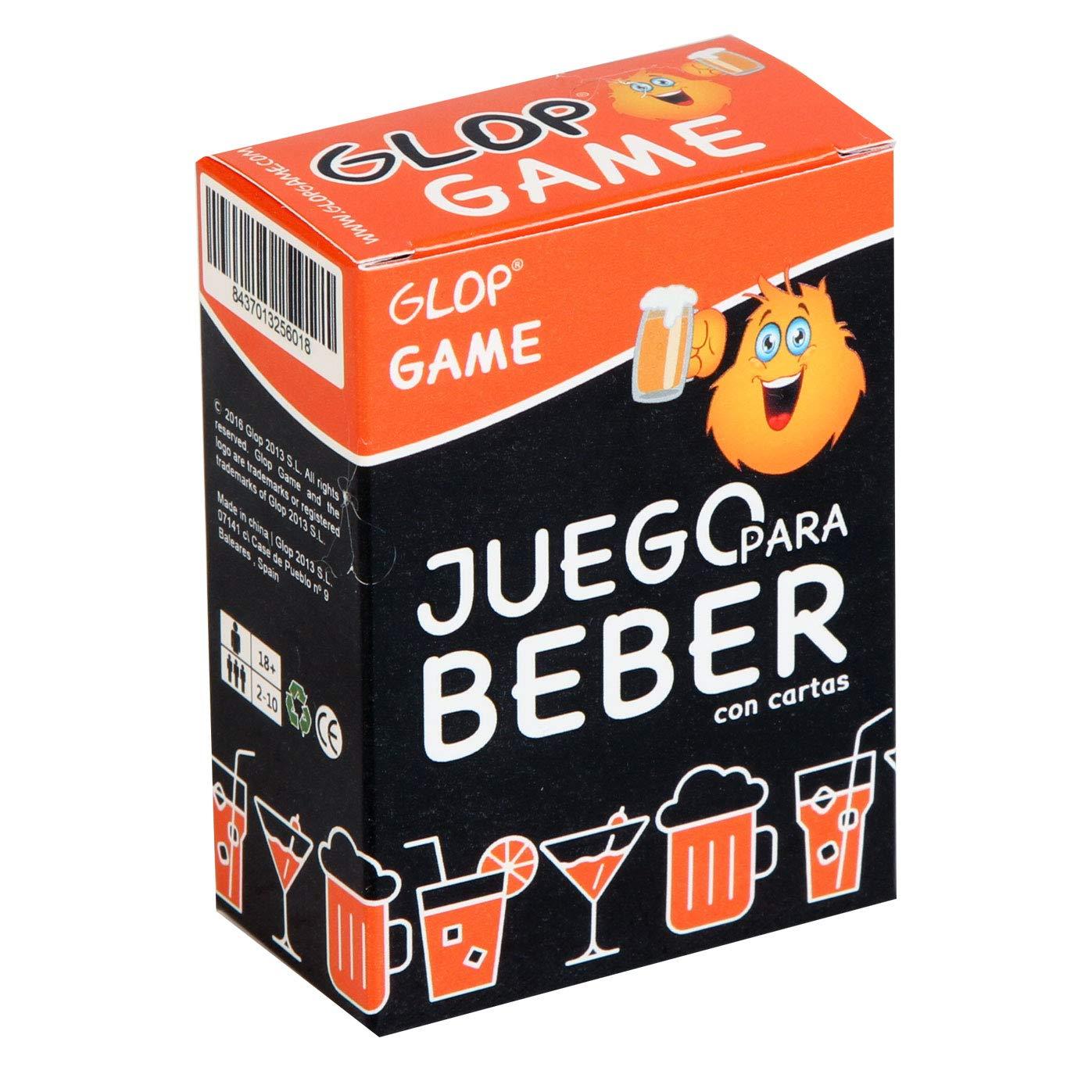Glop Game – Juego para beber – Juego de cartas para Fiestas – Juegos de Mesa – 100 cartas