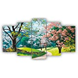 Alura Art N Frames AAFM 1006 Modern Art Nature Scenery 5D Self adhesive UV Coated Painting For Wall For Home Decor Decoration