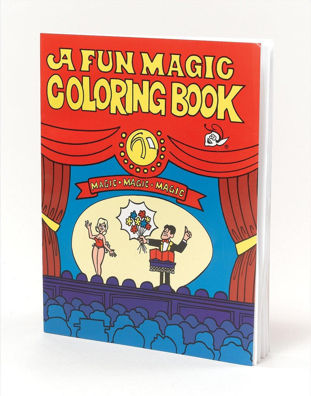 A fun magic coloring book amazon - 2x A4 Magic Trick Colouring Book Novelty Joke Present As Seen On