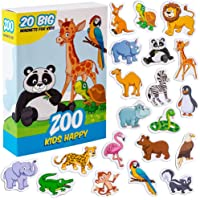 Magnet frigo enfant MAGDUM ZOO Animaux magnetiques - 20 Magnet enfant - Frigo jouet - Frigo enfant - Frigo enfant jouet…