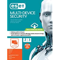ESET Multi-Device Security - 2 Devices, 3 Years (Email Delivery in 2 Hours- No CD)