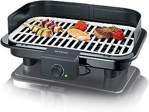 SEVERIN Barbecue-Grill, schwarz, 50.8 x 39.8 x 12.4 cm, PG 8530