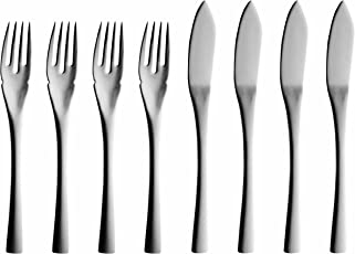 Solex 200402568 Sophia 4-Piece Fish Knives, Set of 8