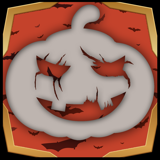 Halloween Crop Foto - Schädel-ernte