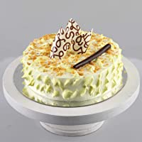 Ferns 'N' Petals Crunchy Butterscotch Cake- Half Kg Eggless| Birthday Cake| Anniversary Cake|Next Day Delivery