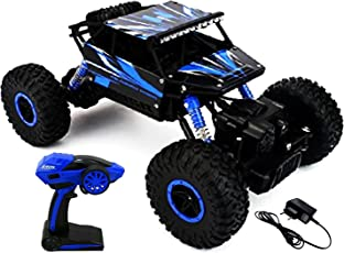 Webby Remote Controlled Rock Crawler Monster Truck, Blue