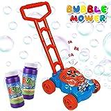 AOLUXLM Juguetes Niños 2 Años Máquina de Burbujas para al Aire Libre para de Soplado Automático Niñas Niño Juguete Bubble Law