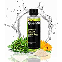 Quench Botanics Mama Cica Deep Pore Cleansing Micellar Water   For Gentle Cleansing and Makeup Removal   with Cica…