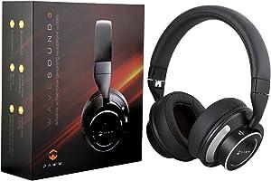 Paww Wavesound 3 Bluetooth Kopfhörer mit aktiver Geräuschunterdrückung inklusive Flugzeugadapter Ladekabel & Tragetasche