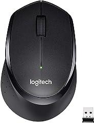 Logitech M330 Silent Plus Kabellose Maus, 2.4 GHz Verbindung via Nano USB-Empfänger, 1000 DPI Optischer Sensor, 24-Monate Ak