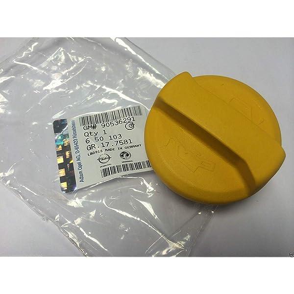 TAKPART Oil Filler Cap 90536291 Compatible for Astra Corsa Combo Meriva Tigra Zafira