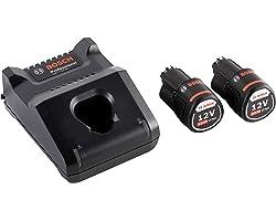 Bosch Professional 12v 2x GBA 12V 2.0Ah accu