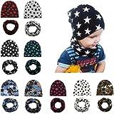 DRESHOW Baby Cappelli Turbante Simpatici e Accoglienti Berretti e Cappellin per Infantile Bambino Neonato Ragazza