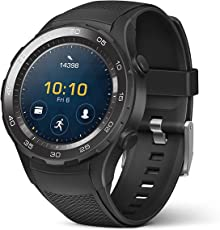 Huawei Watch 2 - Android Wear 2.0 Smartwatch (Carbon Black)