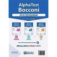 Alpha Test. Bocconi. Kit di preparazione: Manuale di preparazione-Esercizi commentati-1600 quiz. Con software di simulazione