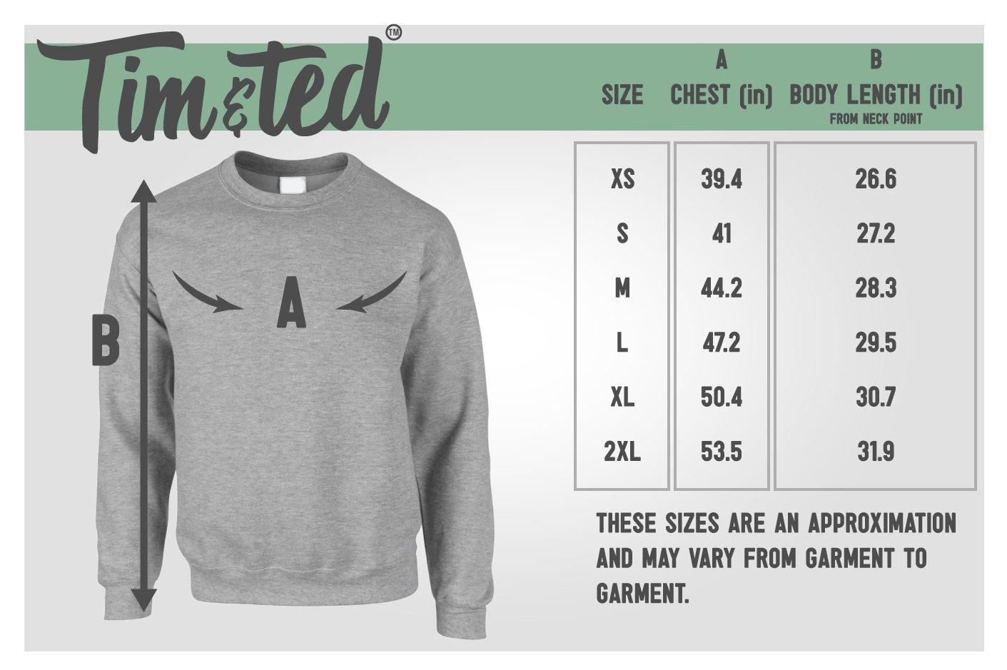 Tim And Ted Christmas Jumper Sweater Sweatshirt Spoiler