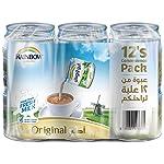 Rainbow Original Vitamin D Convenience Pack Evaporated Liquid Milk - 12 x 170 gm