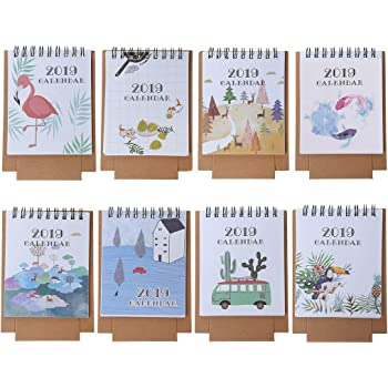 Lower Price with Multifunction Schedule Planner Notebook Kawaii Cartoon Animal Calendar Desk Standing Paper Calendar Cheapest Price From Our Site Office & School Supplies Calendar