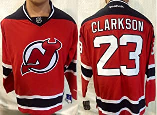 NHL Eishockey Trikot/jersey NEW JERSEY DEVILS Clarkson #23 red in LARGE (L)