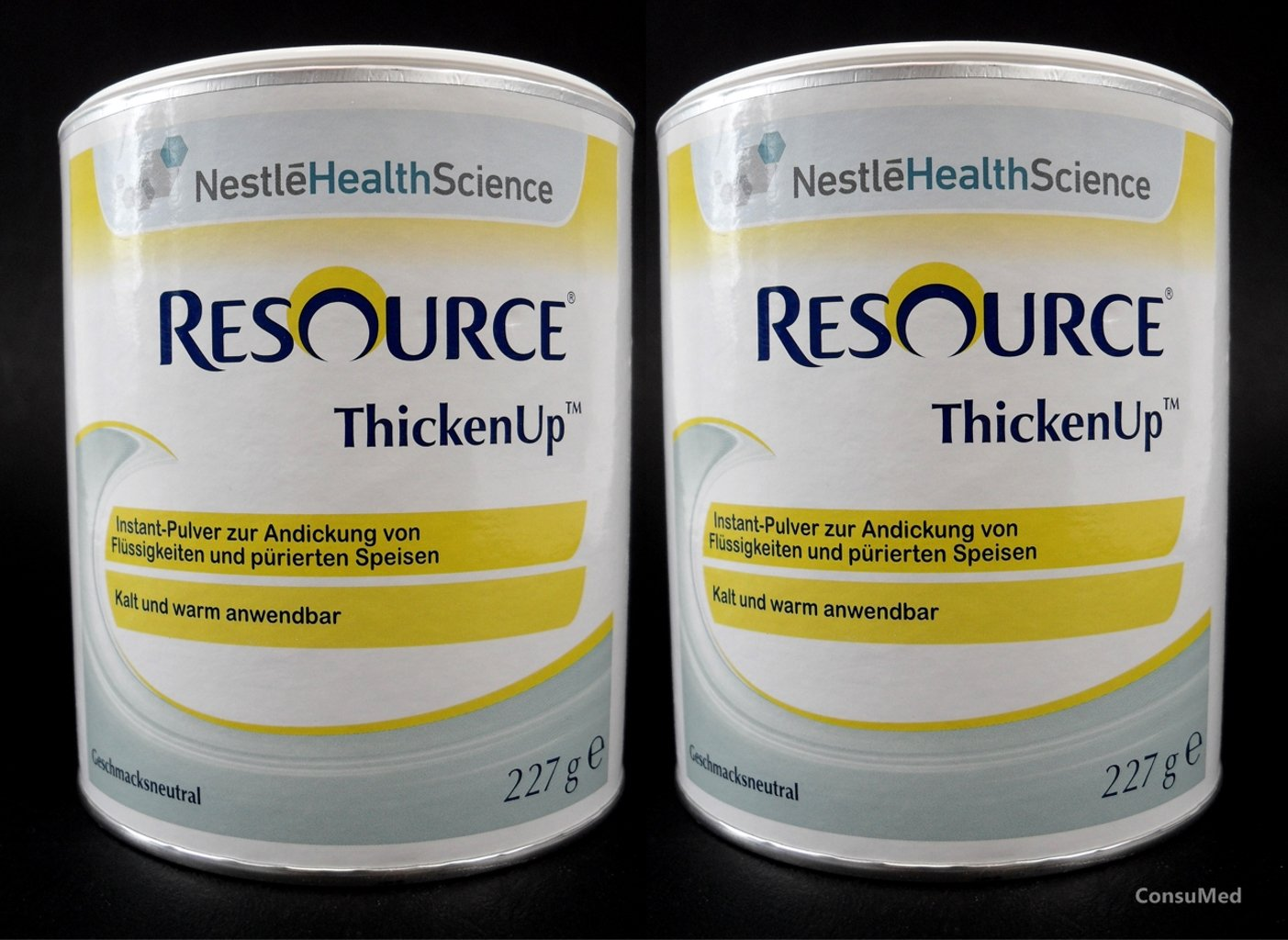 ThickenUp from Nestle Health Science, thickening agents, thickening powder, in exclusive ConsuMed bundle, 2 x 227 g