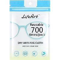 1 pezzo di salviettine anti-appannamento, panni per la pulizia degli occhiali, salviette per la pulizia degli occhiali…