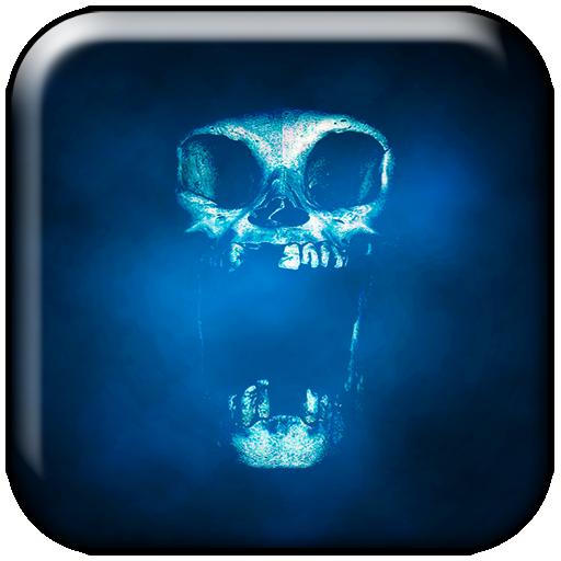 ripper skull interactive live wallpaper