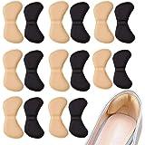 Ealicere 8 Paires Coussinets de Coussin de Talons Poignées à Talon Doublure Auto-Adhésif Semelles de Chaussure Protecteur de