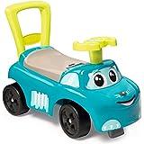 Smoby 720525 Mijn eerste auto glijvoertuig, kindervoertuig met opbergvak en kantelbeveiliging, voor binnen en buiten, voor ki