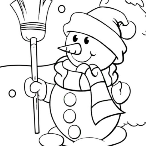 Best Snowman Coloring Pages Book for Kids: Amazon.co.uk ...
