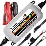 MOTOPOWER MP00205B-FR 12V 1000mA Chargeur/Mainteneur de Batterie entièrement Automatique
