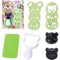 Moule à Boules de Riz Panda Ensemble de Formes de Boules de Riz Moule à Sushi Panda Surface Antiadhésive Saine et Sûre…