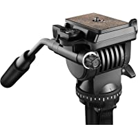 DIGITEK® DVH 001 Video Fluid Head   Lightweight with Flat Base   Supports Multiple Tripods & Monopods (Load Capacity-5…