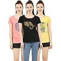 LAYA Women's T-Shirt (Pack of 3)