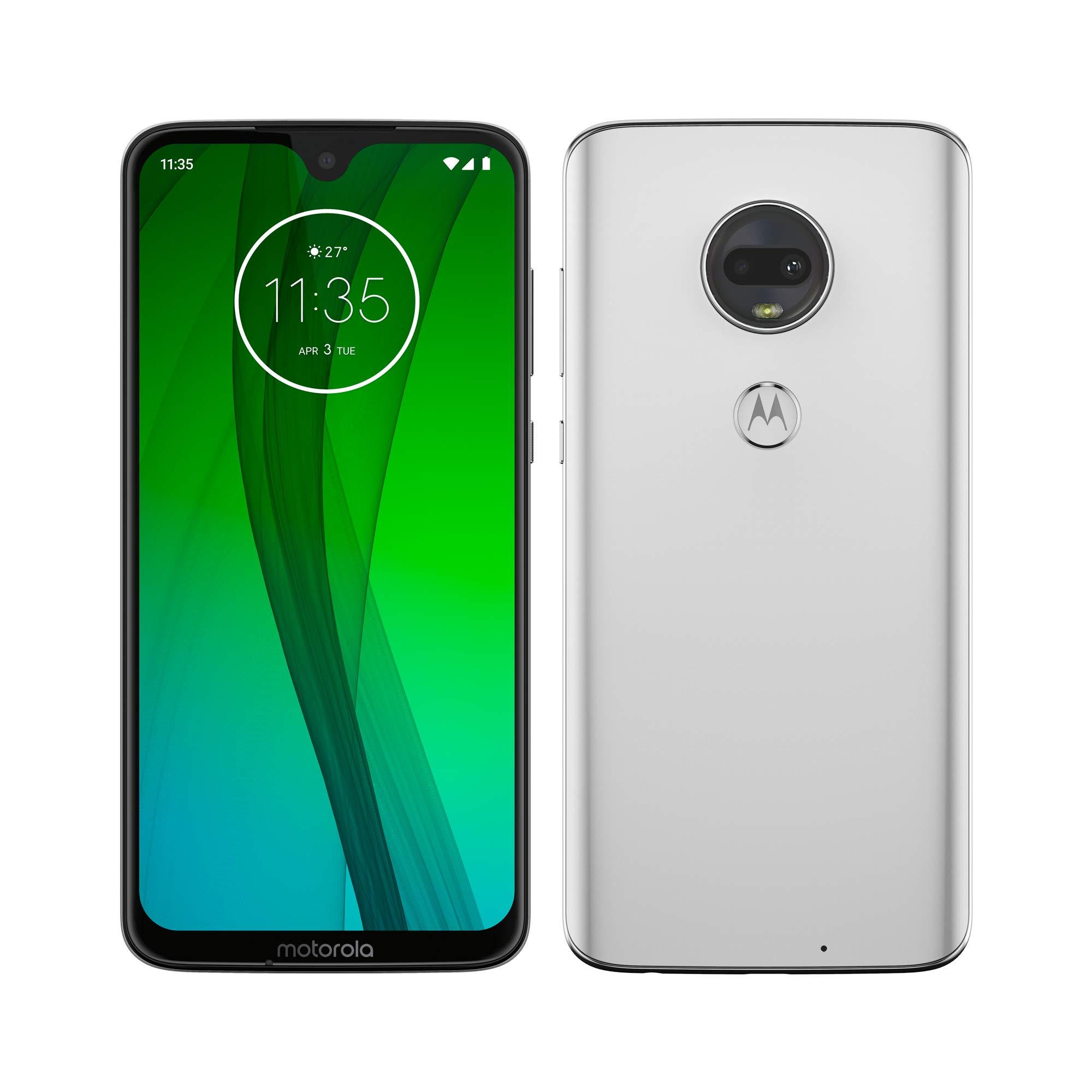 """Motorola Moto G7 Plus – Smartphone Android (Pantalla 6.2"""" FHD+ MAX Vision, Ratio 19:9, cámara Trasera 16MP con estabilizador, cámara Selfie 12MP, 4GB de RAM, 64 GB, Dual SIM)"""