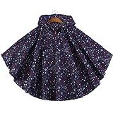 FEIXIANG - Abrigo impermeable ligero para niño, con capucha