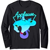 Disney Aladdin Genie Applause Neon Light Manche Longue