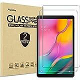 [2 Pack] ProCase Galaxy Tab A 10.1 Screen Protector, Tempered Glass Screen Film Guard Screen Protector for 0.1 Inch Galaxy Ta