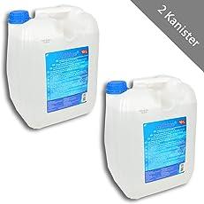 HSM 2 x AdBlue AD Blue Diesel Abgasreinigung Harnstofflösung 10 Liter Kanister