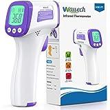 Wawech Termometro febbre infrarossi 2 in 1 Termometro frontale professionale a distanza 5-8CM Termometro digitale febbre Beep