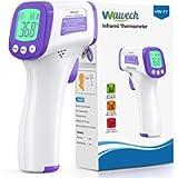 Wawech Termometro febbre infrarossi 2 in 1 Termometro frontale professionale a distanza 5-8CM Termometro digitale febbre…