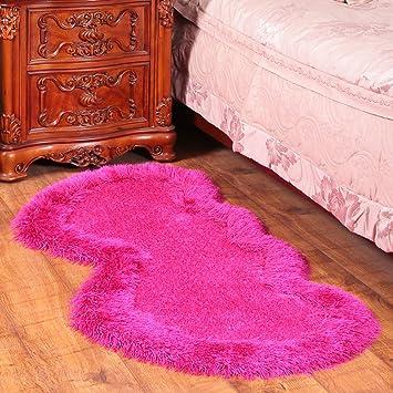 Super Cute Sweet Heart Gemustert Flauschig Bodenmatten Für Schlafzimmer U2013  Maxyoyo Ultra Flauschig Weich Läufer Teppich Dekoration Teppich Wohnzimmer  Teppich ...