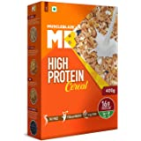 MuscleBlaze High Protein Breakfast Cereal, 20% Protein, Fat Free, Unflavoured, 400g