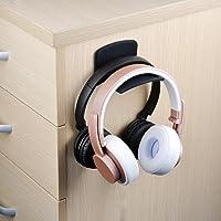Neetto Metall Silikon Headset Halter, Kopfhörer Haken, Ohrhörer Aufhänger für Mehrere Geräte, Schreibtisch, Wand, Tisch, Universal, Gaming Controller, Gamepad, Kabel - HS907
