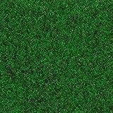 Kunstrasen Rasenteppich Fertigrasen Nadelfilz mit Noppen 6,5mm grün dunkel 200 und 400 cm breit, verschiedene Längen, Variante: 6 x 2 m