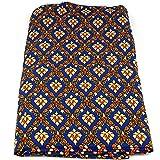 Thai Sarong Bett-Tuch Überwurf - MyThaiMassage - 172cm x 106cm (blau)