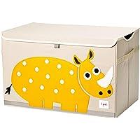 3 Sprouts Cassapanca per bambini - Baule per ragazzi e ragazze, Rhino
