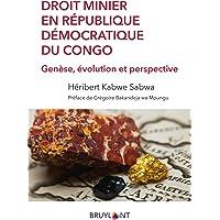 Droit minier en République démocratique du Congo: Genèse, évolution et perspective