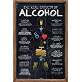 Bcreative The Real Effects of Alcohol Paper Poster by Seven Rays